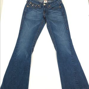 True Religion Joey Twisted Flare Jeans Size 26